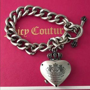 JUICY COUTURE HEART /WATCH BRACELET NWOT